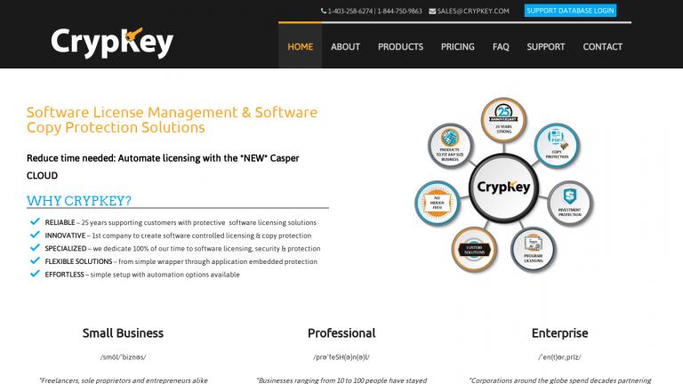 Crypkey desktop
