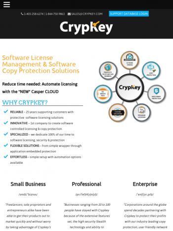 Crypkey tablet