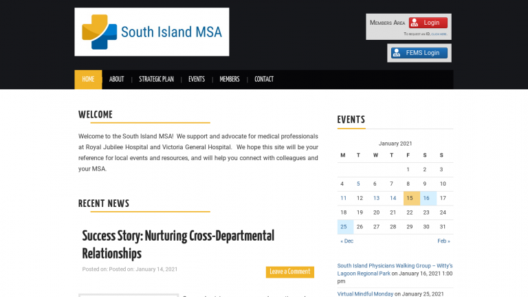 South Island MSA desktop