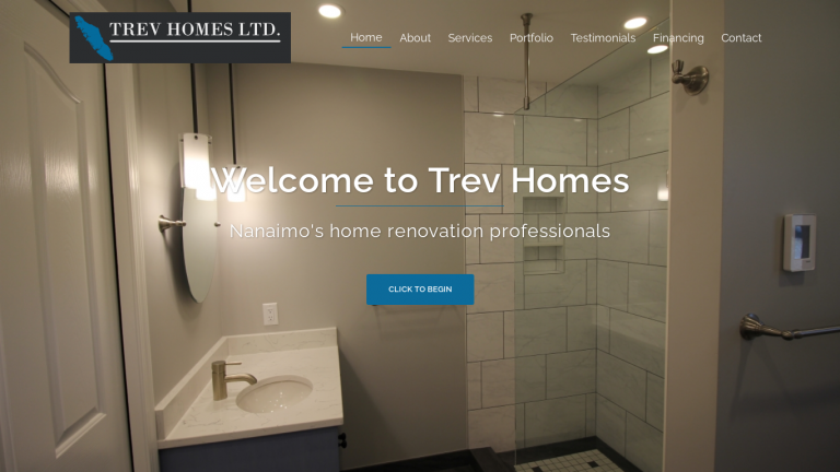 Trev Homes desktop